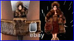 Qty -2- In Unopen Shipper Box Chewbacca Barbie Doll X Star Wars Platinum