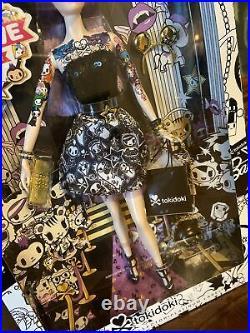 RARE 2014 PURPLE HAIR TOKIDOKI BARBIE DOLL PLATINUM LABEL MATTEL NRFB 1 of 999