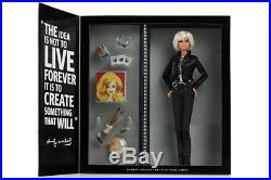 RARE BRAND NEW SEALED Platinum Label Barbie Andy Warhol Doll Mattel 2015 NRFB