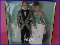 RARE Barbie1961 Spring Break 2011 Convention Barbie Ken Doll Set Platinum Label