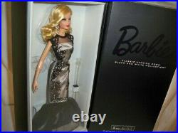 RARE ONLY 999 PRODUCED NRFB Platinum Label Classic Evening Gown Barbie