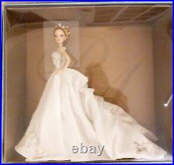REEM ACRA BLONDE BRIDE BARBIE. PLATINUM LABEL. #778of999. ITEM L3549. MINT COND