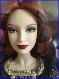 Red Haired Legends of Ireland DEIRDRE of ULSTER Barbie DOLL PLATINUM LABEL NRFB
