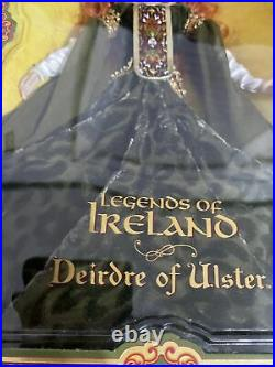 Red Haired Legends of Ireland DEIRDRE of ULSTER Barbie DOLL PLATINUM LABEL (lf)