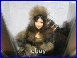 STAR WAR CHEWBACCA Barbie PLATINUM LABEL Doll GMM96 NRFB SHIPPER