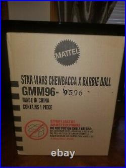 Sealed New 2020 Star Wars Chewbacca X Barbie Doll Nrfb Platinum Le W Shipper