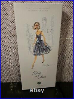 Splash Of Silver Barbie Doll Bfc Exclusive #865 Platinum Label Mattel P4792 Nrfb