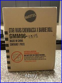 Star Wars Chewbacca Barbie Signature Doll Brand New In Box