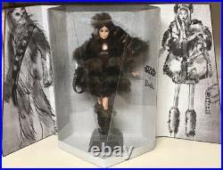 Star Wars Chewbacca X Barbie Doll Nrfb Platinum Le W Shipper