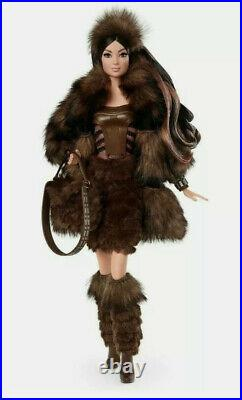Star-wars Chewbacca Barbie Platinummint And Sealedgorgeous Dress In Faux-fur