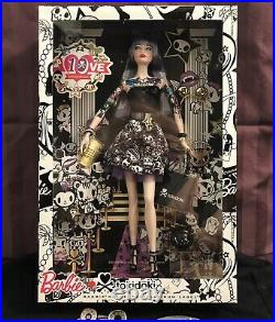 TOKIDOKI BARBIE DOLL-PLATINUM LABEL-CMV58-2015-Only 999 MADE-NRFB-NEWithEXCELLENT