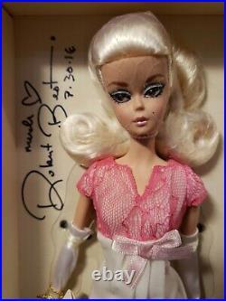 Us Convention Silkstone Barbie Doll Platinum Label Robert Best Mattel Dkn08 Nrfb