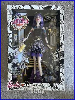 Very Rare 2014 Purple Hair Tokidoki Barbie Doll Platinum Label Mattel