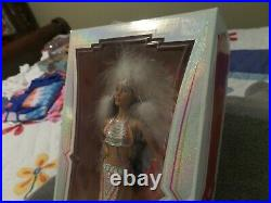 Vintage 2007 Cher Bob Mackie Native American Indian Barbie Doll L3548 NIB BKLB