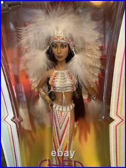 Vintage 2007 Cher Indian Half Breed by Bob Mackie Black Label Barbie MIB #L3548