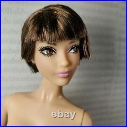 (f96) Nude Barbie Platinum Label Yves Saint Laurent Brunette Karl Doll For Ooak